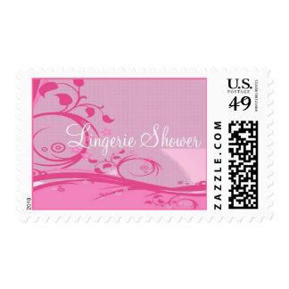 Lingerie Shower Postage Stamp