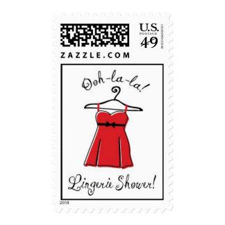 Lingerie Shower Stamp