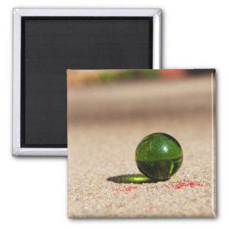 Lingering on Memory Lane 2 Inch Square Magnet