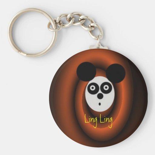 LingLing, Ling Ling Llavero Redondo Tipo Pin