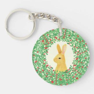 Lingon bunny Acrylic Keychain