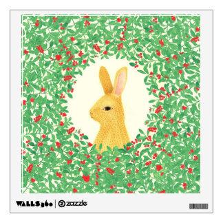 Lingon bunny Wall Decals