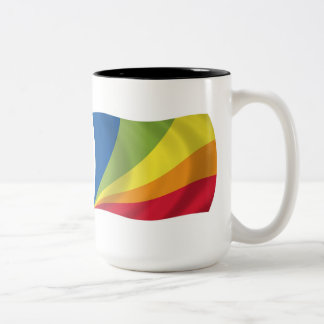 Lingua Franca Nova Flag Mug