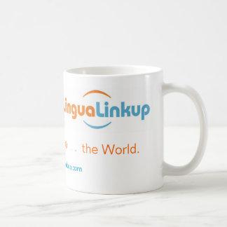Lingua Linkup coffee mug