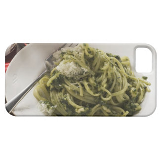 Linguine with pesto and Parmesan, red wine iPhone SE/5/5s Case