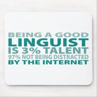 Linguist 3% Talent Mouse Pad