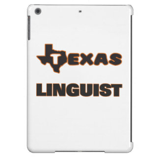 Lingüista de Tejas Funda Para iPad Air