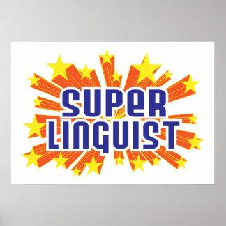 Lingüista estupendo póster