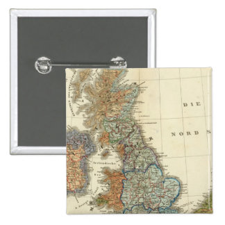 Linguistic map of British Isles Button