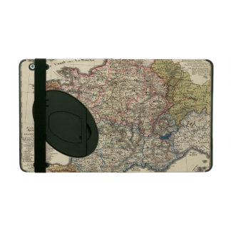Linguistic map of France iPad Covers