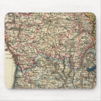 Linguistic map of France Mouse Pad