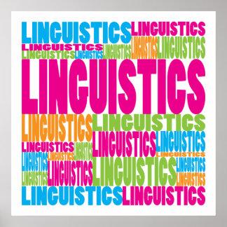 Lingüística colorida póster