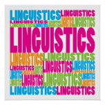 Lingüística colorida posters