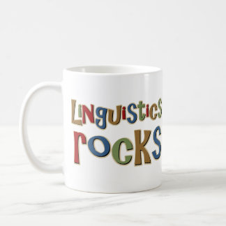 Linguistics Rocks Coffee Mug