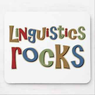 Linguistics Rocks Mouse Pad