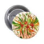 Linha de Produtos Flores Tropicais Pin Redondo 5 Cm