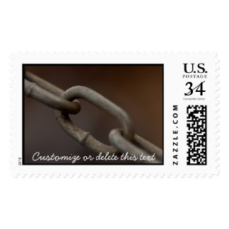 Link in the Chain; Customizable Postage