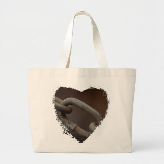 Link in the Chain Large Tote Bag