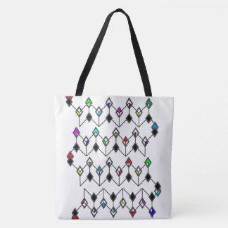 Link of Diamonds dark Tote Bag