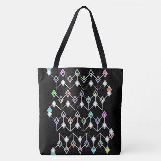 Link of Diamonds light Tote Bag