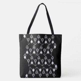Link of Diamonds White Tote Bag