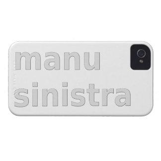 linke Hand left Hand manu sinistra iPhone 4 Cover
