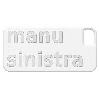 linke Hand left Hand manu sinistra iPhone SE/5/5s Case