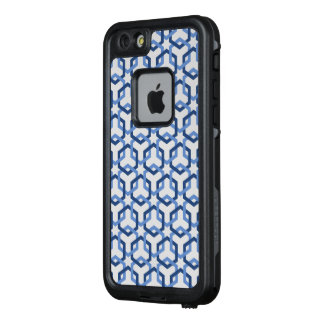 Linked Blue Hexes LifeProof FRĒ iPhone 6/6s Case