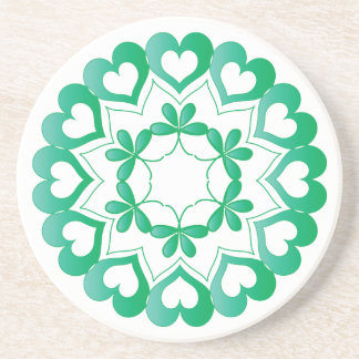 Linked by Love Green Coaster