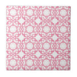 Linked by Love Tile - Pink