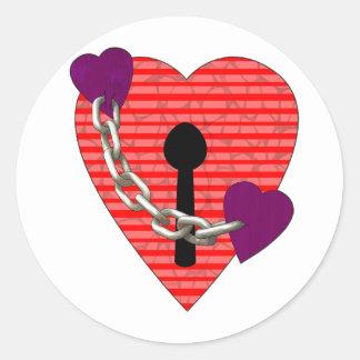 linked harts sticker