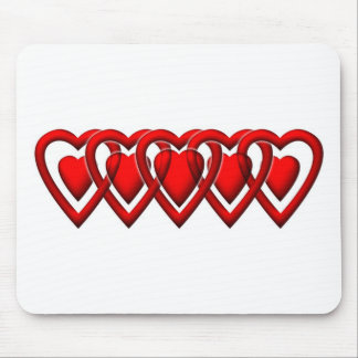 Linked Heart Classic. Mouse Pad