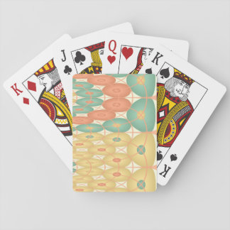 Linked spheres playing cards