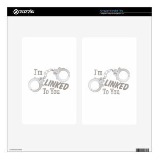 Linked To You Skins For Kindle Fire