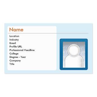 LinkedIn - Business Business Card Template