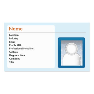 LinkedIn - Business Double-Sided Standard Business Cards (Pack Of 100)