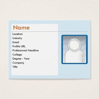 LinkedIn - Chubby Business Card