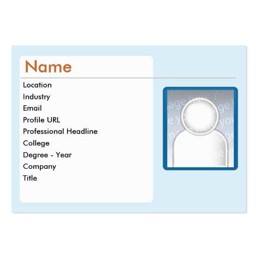 LinkedIn - Chubby Business Card Templates