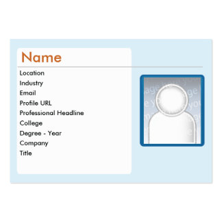 LinkedIn - Chubby Large Business Cards (Pack Of 100)