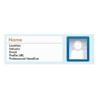 LinkedIn - Skinny Business Card