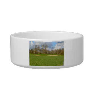 Links Golf Course Cat Bowls