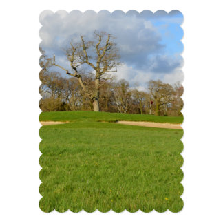 Links Golf Course Personalized Invitations