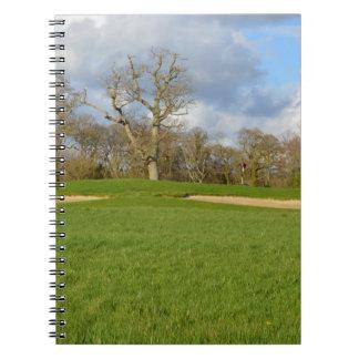 Links Golf Course Notebooks