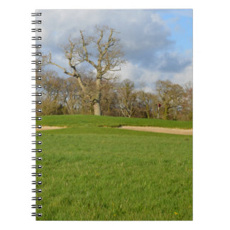 Links Golf Course Spiral Notebooks
