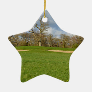 Links Golf Course Ornament