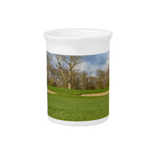 Links Golf Course Beverage Pitchers