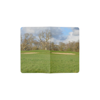 Links Golf Course Pocket Moleskine Notebook Cover With Notebook