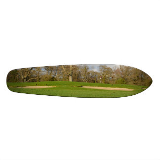 Links Golf Course Custom Skate Board