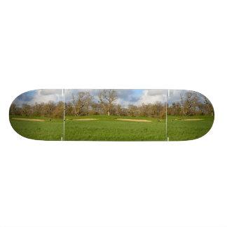 Links Golf Course Skate Deck