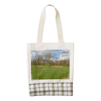 Links Golf Course Zazzle HEART Tote Bag